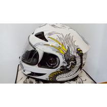 Capacete Jd2 Helmet Modelo Samurai Tribal