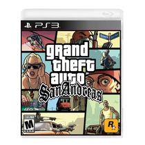 °° Grand Theft Auto San Andreas Para Ps3 °° En Bnkshop