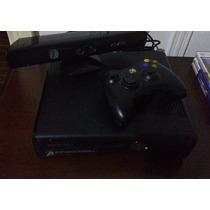 Xbox360 Slim 4gb+sensor Kinect+3 Jogos