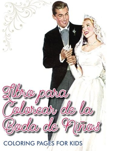 Libro : Libro Para Colorear De La Boda De Ninos - Colori... - $ 759 ...