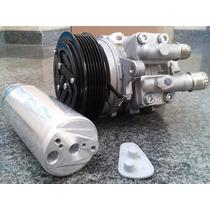 Compressor Ar Condicionado 10p08 Gol Parati + Filtro Secador