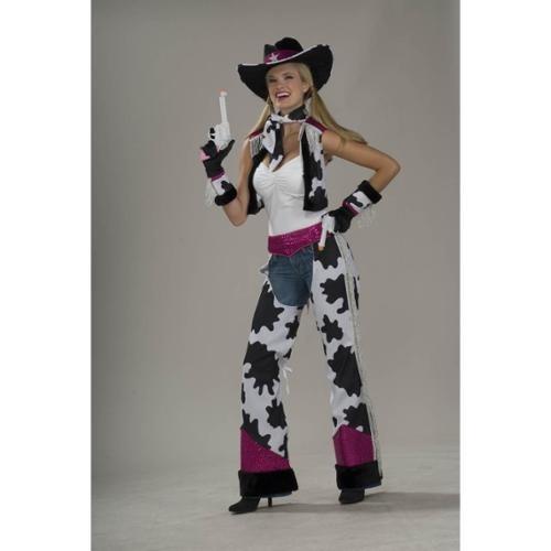 fa24a7527 Disfraz De Vaquera Para Mujer Talla  Única Halloween -   145.550 en Mercado  Libre
