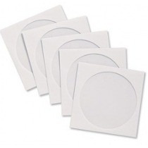 1000 Capas Envelopes Brancos Cd Dvd Com Janela Transparente
