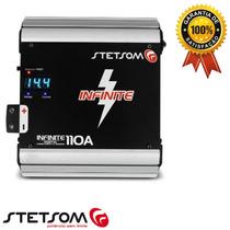 Fonte Digital Stetsom 110 Amperes Bivolt Carregador Bateria