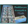 Chocolatines Especiales Personalizados X 20 Unidades Promo