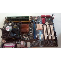 Kit Placa Asus P5ql-se Lga Ddr2 775+ Core 2 Duo E7400+ 4gb