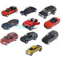Kit Com 10 Miniaturas Metal Carros Diversos E Antigos Maisto
