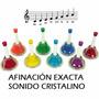 Campanas De Colores Ocho Notas Musicales Escala Do Mayor