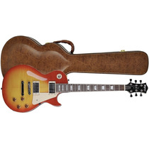 Guitarra Les Paul Tagima Tlp Flamed Cherry Sunburst C/ Case