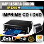 Impresora Canon Pixma Ip7210 Sistema Continuo Cd - Dvd Veloz