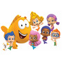 Painel Decorativo Festa Bubble Guppies 1x1,5m (bubble02)