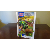 John Deere Mega Bloks Farm Tractor World Builders
