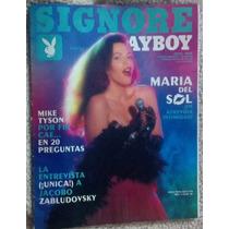 Revista Play Boy Maria Del Sol, Fotos 100% Desnuda, Español