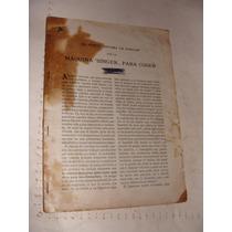 Libro Manual Viejito Maquina Singer , El Nuevo Sistema Para