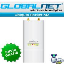 Ubiquiti Rocket M2 Radiobase 630mw Mimo 2.4ghz Envío Gratis*