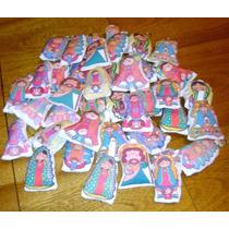 40 Llaveros Souvenir Porfis Virgencita Sublimados