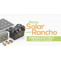 Planta De Luz Solar 100 Watts