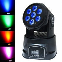 Mini Moving Head 7 Leds 100w 4 Em 1 - Smart Rainbow