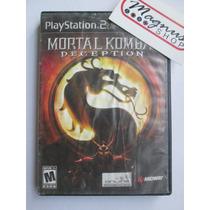 Mortal Kombat Deception Para Playstation 2 Ps2 Mk Peleas