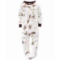 Pijamas Enterito Osito Carters Micropolar Invierno Nena-bebe
