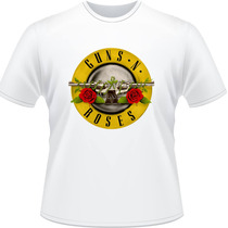 Camiseta Guns N Roses Axel Rose Slash Rock Banda Camisa 2