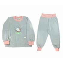 Pijama Infantil Moletinho Menina - Marca Nanar