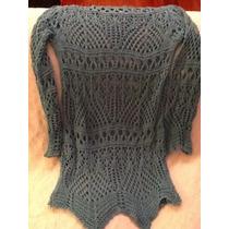 Sweater Tejido Crochet