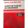 Cables De Bujia Ford Festiva 1.3l 8.5 Mm Kevlar