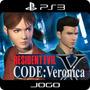 Ps3 Digital Resident Evil Code: Veronica X - Digital Ps3