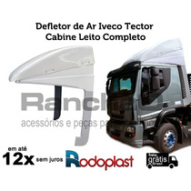 Defletor De Ar Iveco Tector Cabine Leito Completo