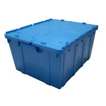 Caja Con Tapa Bisagra Plastico
