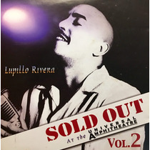 Cd Lupillo Rivera Sold Out Vol 2 At The Universal Amphithea