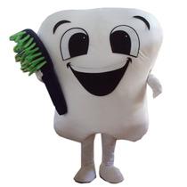 Botarga Disfraz Traje Tamaño Adulto Dentista Diente Hm4