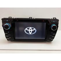 Central Multimidia M1 Corolla 2015 Novo Toyota Dvd Gps Tvdig