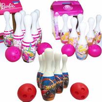 Bowling Princesas Barbie Hot Wheels Original Casa Valente