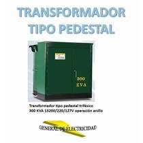 Transformador Tipo Pedestal 300 Kva 13200v