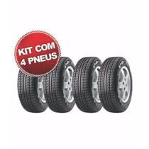 Kit Pneu Pirelli 185/65r14 P6 86h 4 Unidades - Sh Pneus