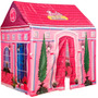 Casa Barbie Tela Estructura 2en1 Orig Tv/ Open-toys Avell125