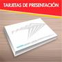Tarjetas De Presentación 100 Unid Imprenta Full Color Glasse