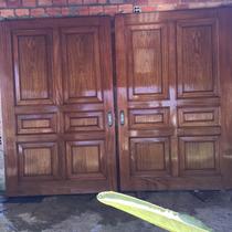 Porta De Correr Em Cerejeira Macissa Med 1,50x2,34