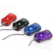 Mouse Optico Usb Carrinho Colorido Com Fio