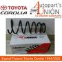 Espiral Trasero De Toyota Corolla 1994/2002
