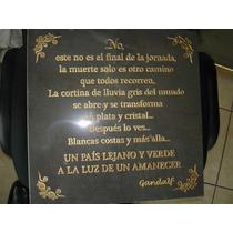 Lápida Para Panteón, Aniversario Luctuoso O Día De Muertos