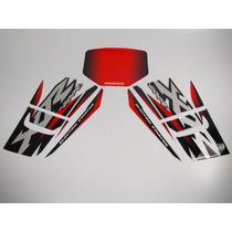 Kit Adesivos Xr 200r 2002 Branca - Resinado - Decalx