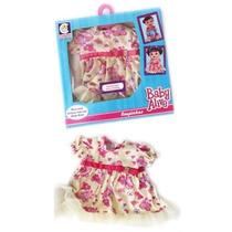 Vestido Roupinha P/ Boneca Baby Alive Roupa Urso Am Original