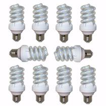Kit 10 Lampada Led 16w Espiral Soquete E27 Bivolt Comercio