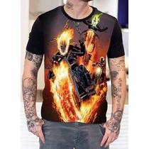 Camisa Camiseta Motoqueiro Fantasma 3 Camisas
