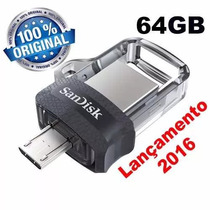 Pen Drive 64gb Sandisk Ultra Dual Drive 3.0 P Entega