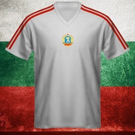 Camisa Retrô Bulgaria Branca - R  89 5d19042b546de