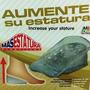 Plantilla Silicona Elevate Mas Shoes Crece Elevadoras Alto